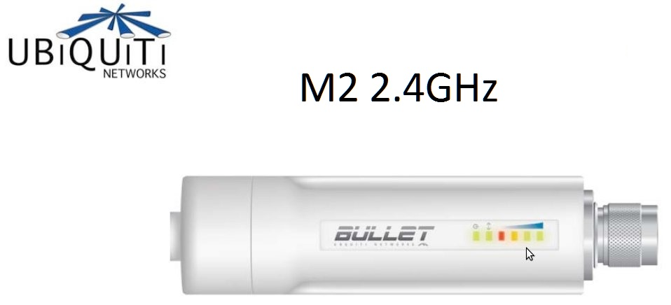 AP Ubiquiti Bullet M2 2.4GHz HiPower 802.11N (MIMO) responsive
