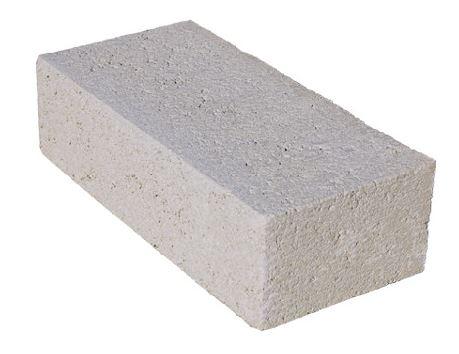 Blocco in cemento per zavorra 11x27x40. 25Kg Già fornito di barra filettata M12 in acciaio zincato fissata con ancorante chimico