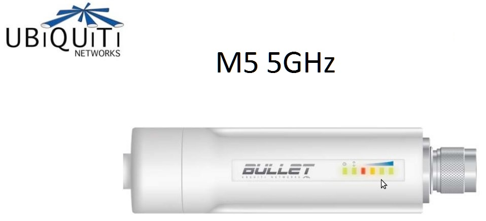 AP Ubiquiti Bullet M5 5GHz HiPower 802.11N (MIMO) responsive