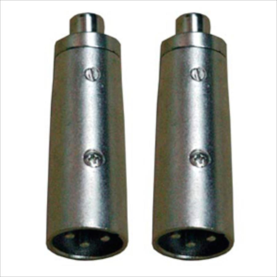 Adattatore XLR-m/RCA-f 2pz