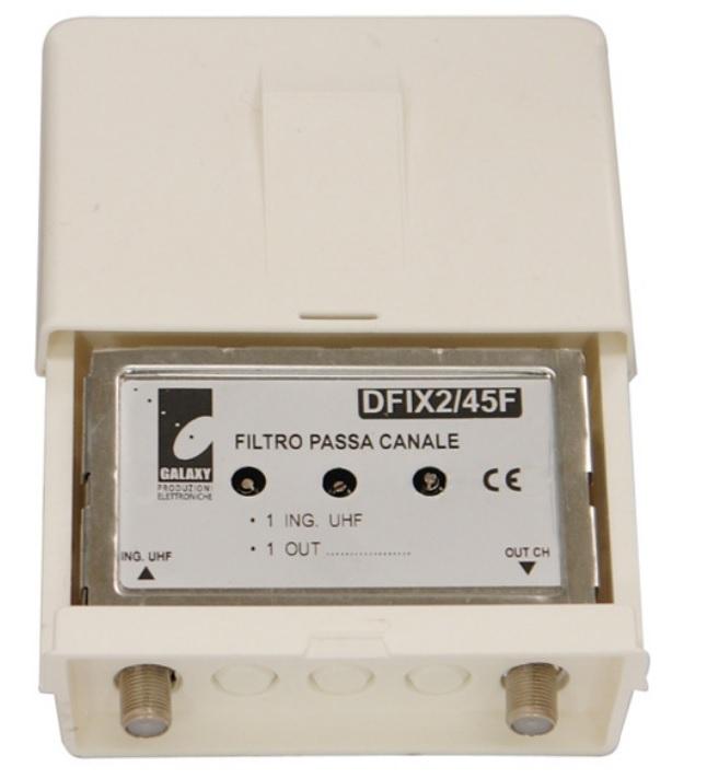 Filtro passacanale UHF DFIX 2/45 F