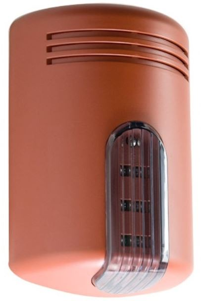 Sirena Doge LS (con sistema anti-schiuma/anti-shock) Rossa, calotta Fumè