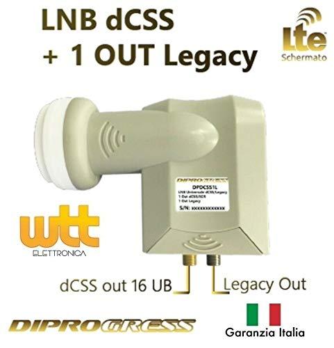 LNB dcss/dcsr 16 UB + 1 out legacy