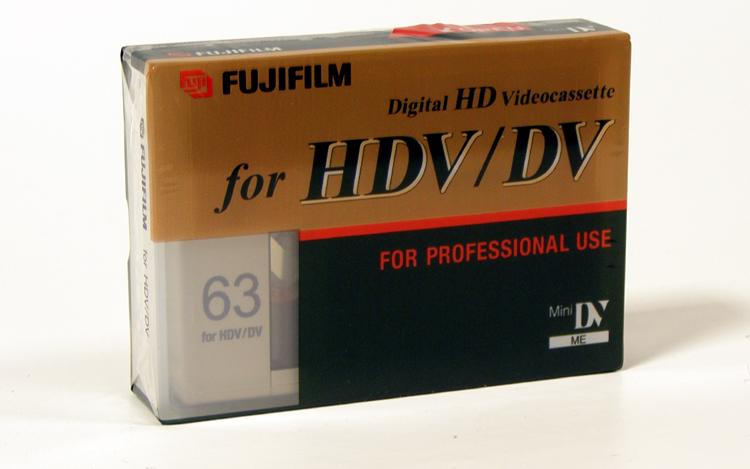 Videocassetta MINI HDV 63