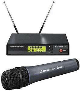 Kit Microfono EW100 740-772MHz + Ricevitore Base EM100G2 740-776MHz Range C