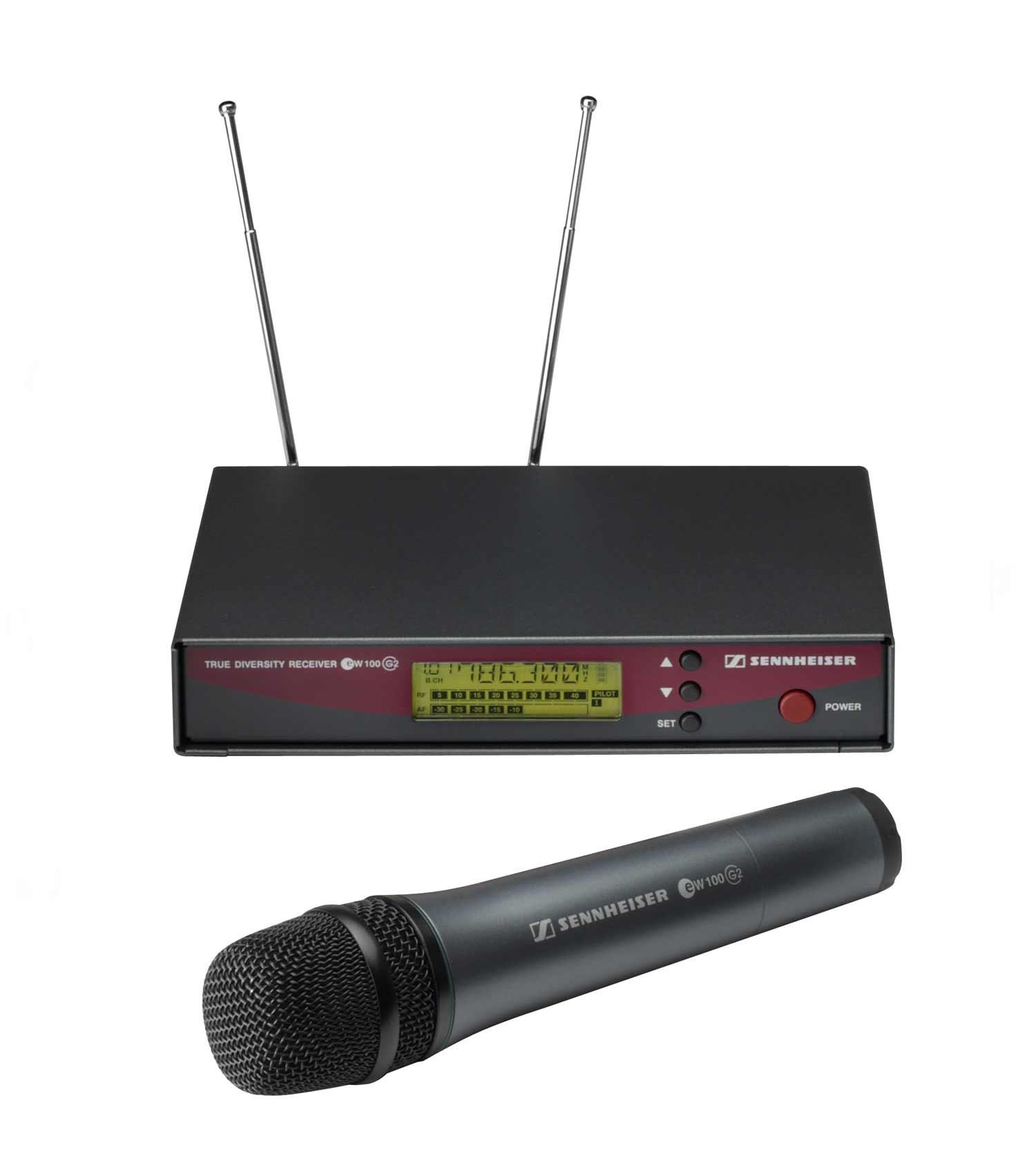 Kit Microfono EW100G2 786-822MHz Range D + Ricevitore Base EM100G2 786-822MHz Range D