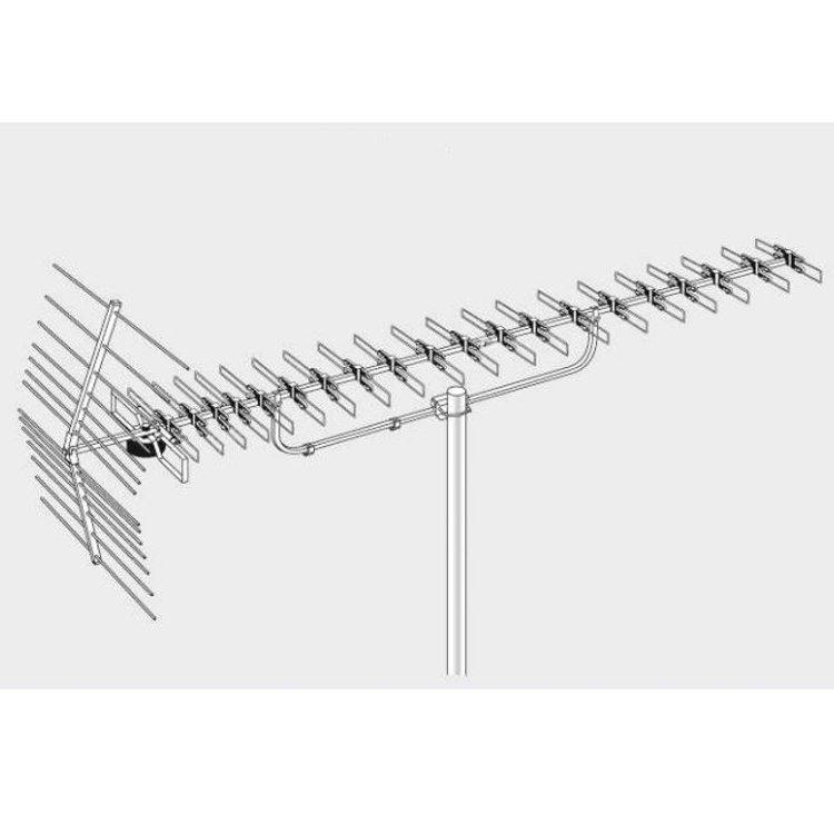 Antenna Yagi MERAK XL IV/V 10,5:15dB 21:60 (LTE FREE)