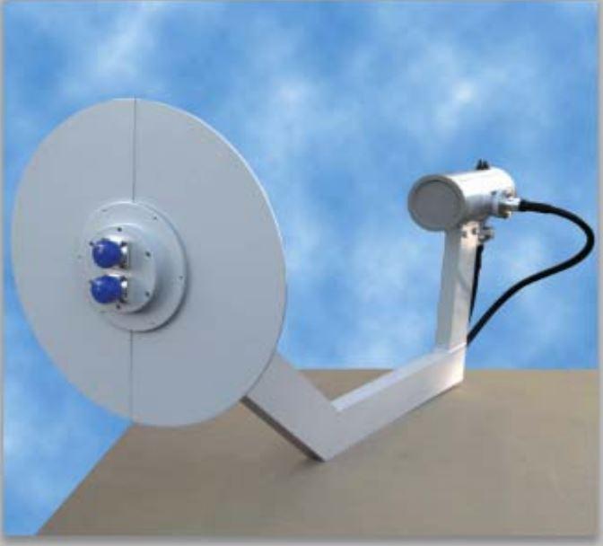 Illuminatore Doppia PolarizzazioneFreq. 2.36 ÷ 2.45 GHz per A12 (n.2ingressi 7/16)
