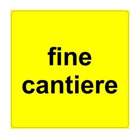 FIG. S317 FINE CANTIERE CM 60x60 LAM. CL. 1
