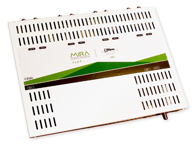 Trasmodulatore DVBS - DVBT 8 MUX MIRA FLAT8S2