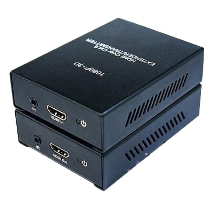 Estensore HDMI + IR su Cat.5/6e max 50m (TX+RX)
