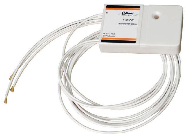 Splitter F.O. 3 vie con 100cm fibra 6,5dB