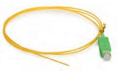 Pigtail SM: 2 metri, preterminato SC-APC, Ø 2mm