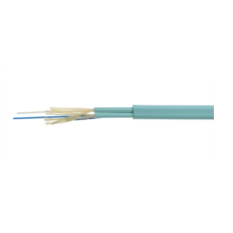 Fibra 2 Core MM LSZH x Interno diametro 3 mm Bianco