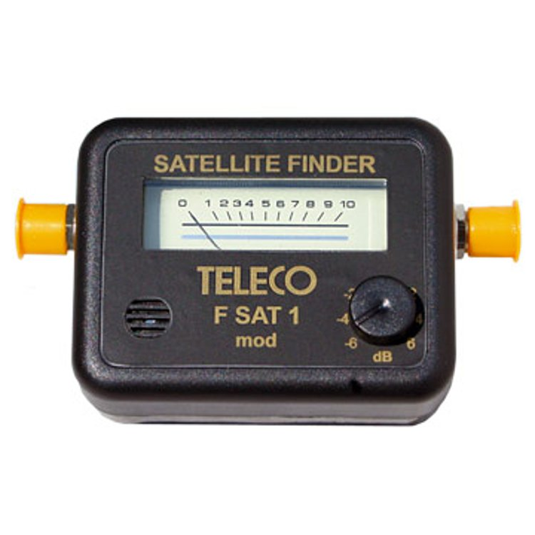 Misuratore a lancetta per segnali Sat mod. FSAT1