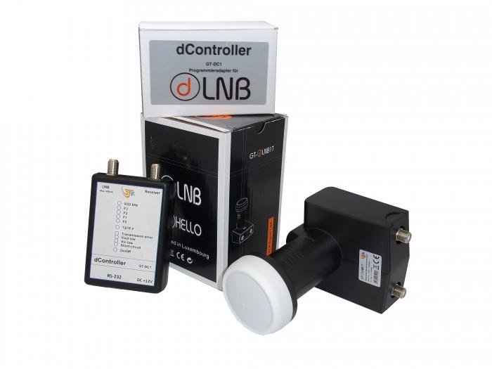 LNB IF-IF programmabile + in GTsat config Statica o dinamica dSCR