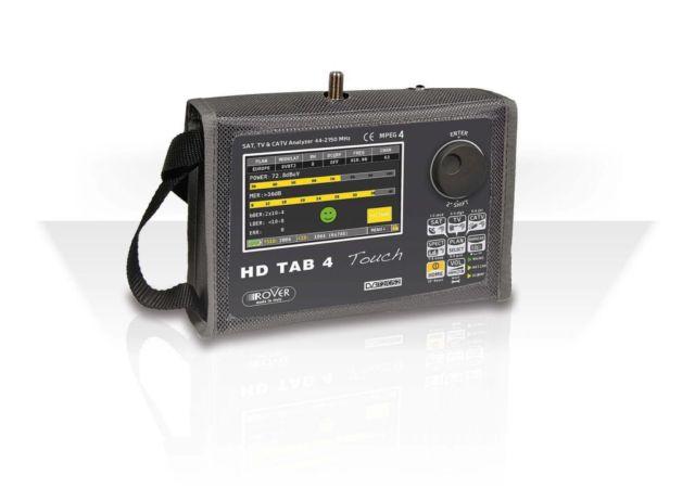 Misuratore di campo DVB-T/T2/S/S2/C, LTE e Display 4,3