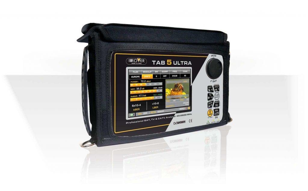 Misuratore di campo DVB-T/T2/S/S2/C, LTE e Display 5