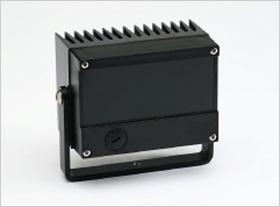 InfraLUX - Illuminatore IR-LED HighPower 85/115m 28° con staffa a parete