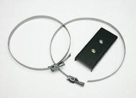 Piastra/supporto per montaggio a palo illuminatori SERinn serie IL