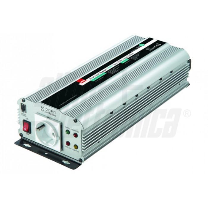 Inverter Onda modificata 1000W Ingresso: 24Vdc, Uscita: 230Vac