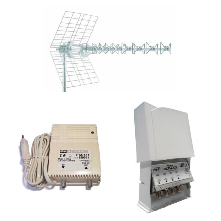 Kit 1xBLU10HDLTE + 1xMAP541LTE + 1xPSU411