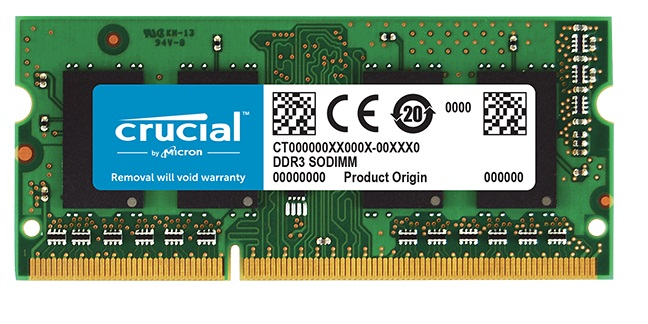 DDR3 8GB 1600 MHZ SO-DIMM 1,35V