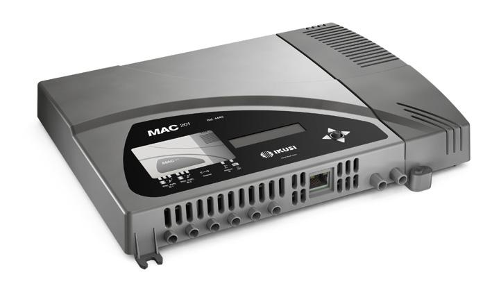 Modulatore + encoder 2 AV C-OFDM Stand-alone Ikusi