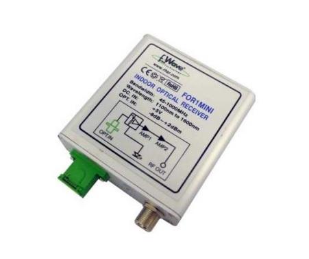 Mini ricevitore TV RF ottico: 47-862 Mh