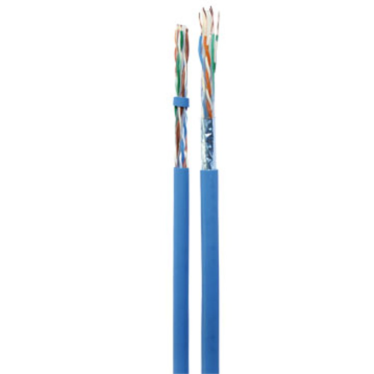 Cavo F/UTP Cat 6 Microtek 305mt PVC LSZH Azzurro