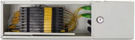 CSOE - Centro Stella Ottico di Edificio - Modulo 8 unità immobiliari con adapter, pigtail, schede di giunzione e splitter 1x8