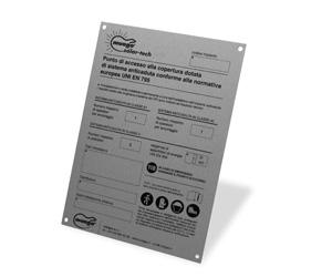 Cartello identificativo progetto