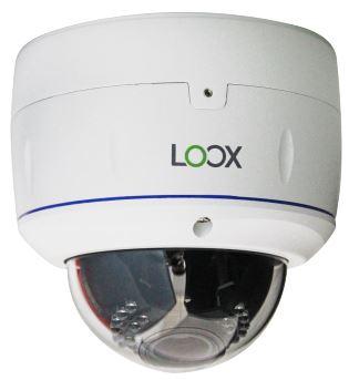 Telecamera Dome Antivandalo 960H con IR - ICON-OSD D&N 700 TVL ; Filtro IR Meccanico Ottica Varifocal 2,8~12mm; 21 LED ad alta efficienza portata IR 20 mt. Tastiera OSD integrata, Alimentazione 12-24Volt 1,1Ah IP67 i fissaggio a soffitto o parete 3 assi