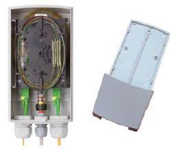 Custodia per arrivo fibra ottica OUTDOOR con chiave