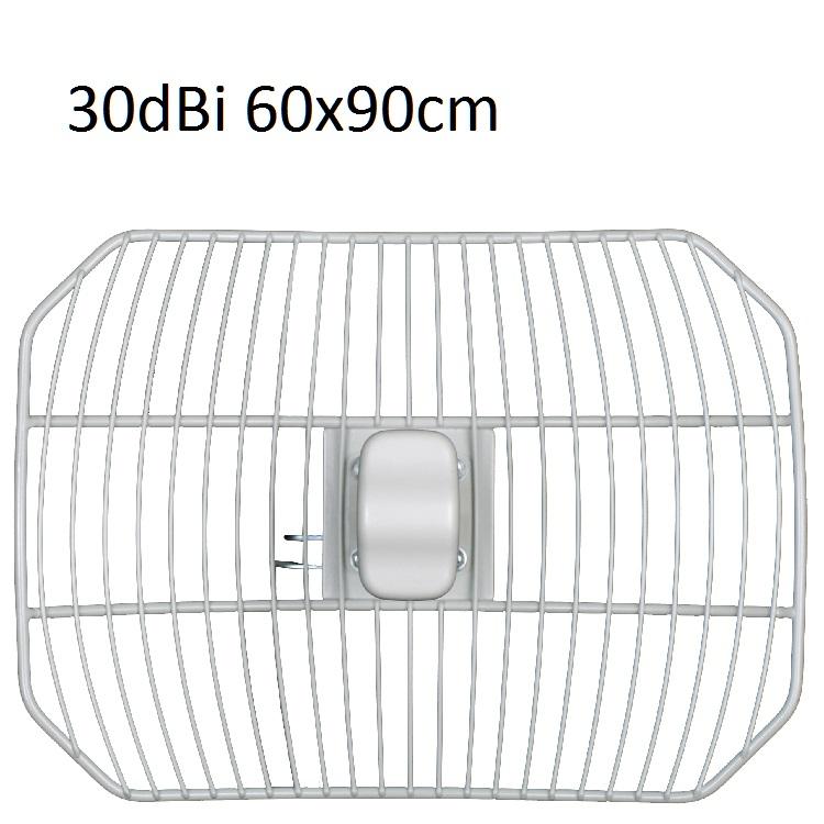 Parabola rete 5.47:5.72 30dBi COBER 60X90cm