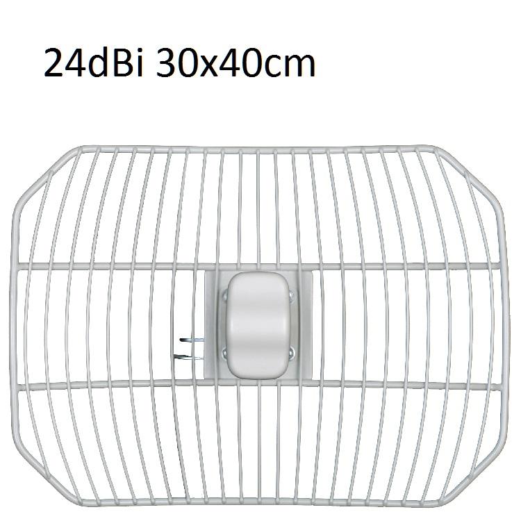 Parabola rete 5.47:5.72 24dBi COBER 30X40cm