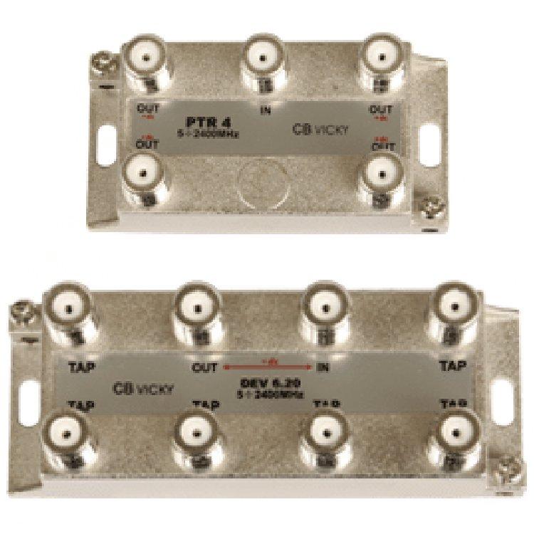 Divisore 8 Vie 5-2400MHz F pressofusione PowerPass