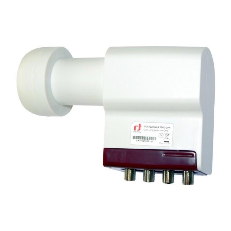 LNB Quattro HV/HV 0,2dB Typ. ULN DVB-S2 40mm