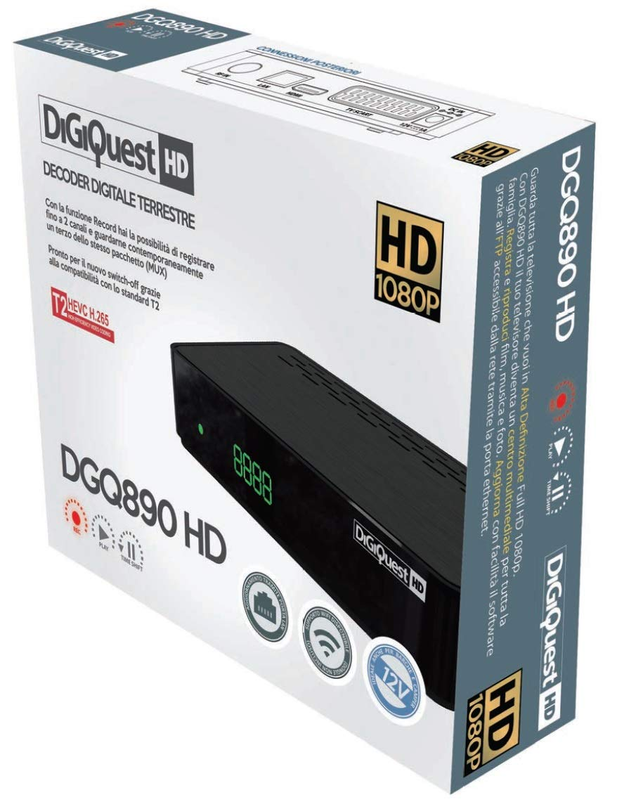 DIGIQUEST DGQ890 HD responsive