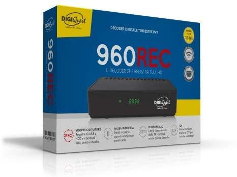 Decoder DVB-T2 DIGIQUEST 960REC