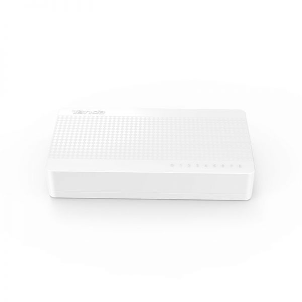 Switch 8 P S108V8 Non gestito Fast Ethernet (10/100) Bianco TENDA