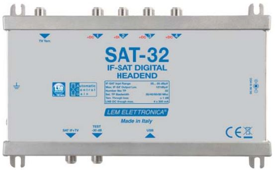 Centrale programmabile IF-IF 32 Trasponder DVB-S/S2