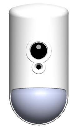 Sensore Infrarosso 12m con Telecamera 640x480