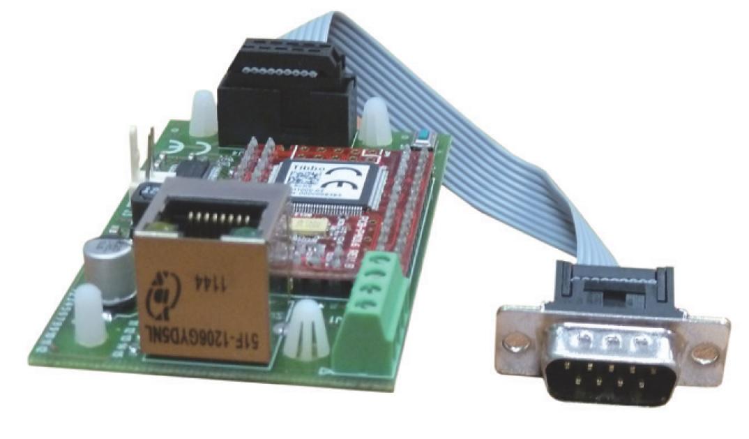 Interfaccia Lan per programmazione e telegestione WebServer