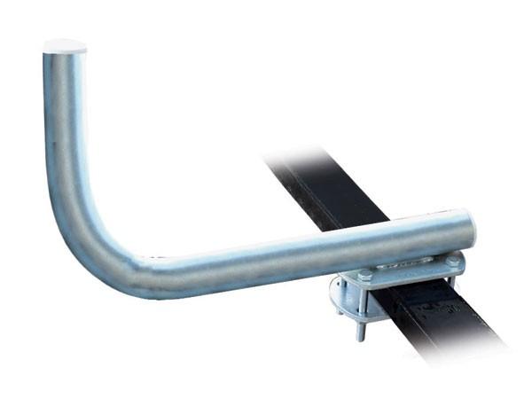 Staffa SAT L lunga x passamano PIATTO - H 40cm