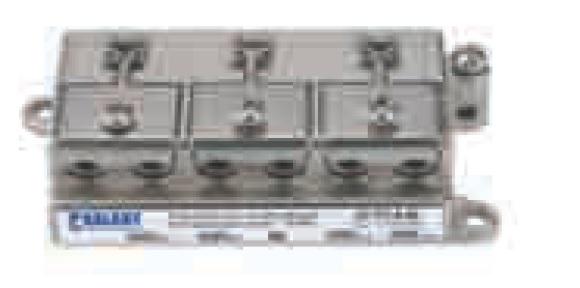 Divisore 2 Vie 5-2400MHz F pressofusione PowerPass da palo