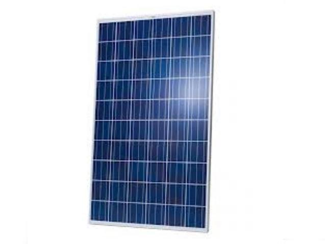 Modulo fotovoltaico policristallino da 250Wp; dim. 1640x992x40mm