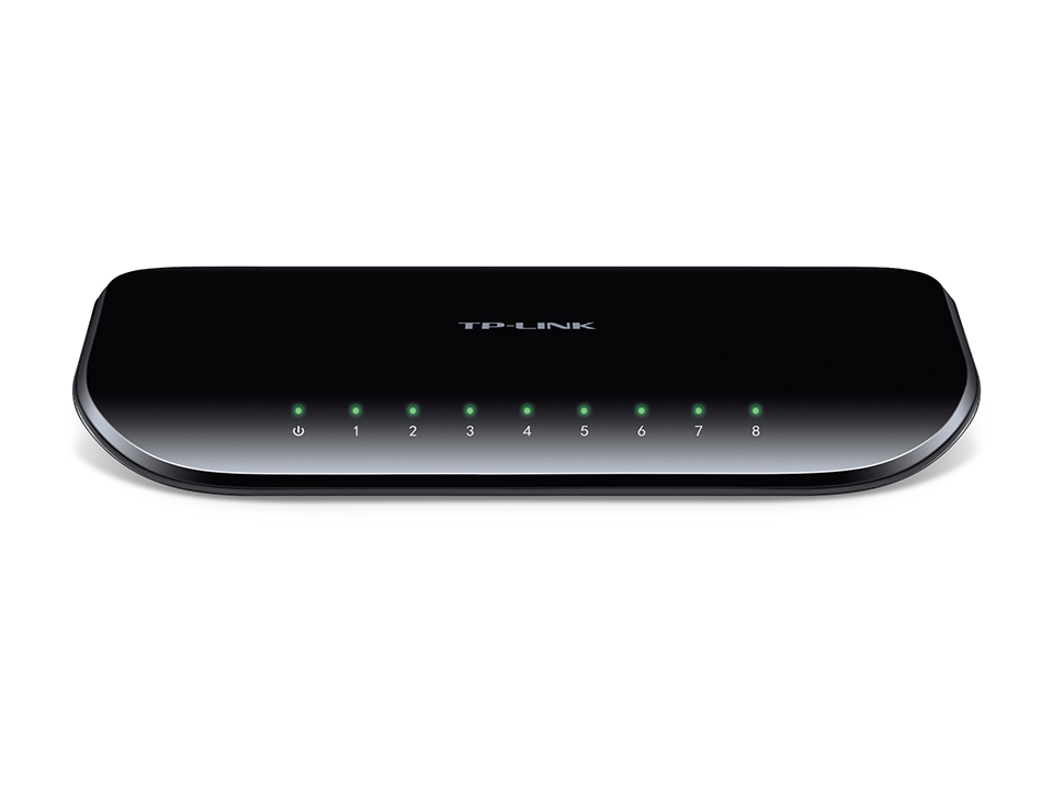 Switch 8 porte Gigabit responsive