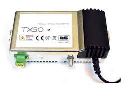 Trasmettitore ottico 1550nm 5dBm frequenza di ingresso 5:2150MHz
