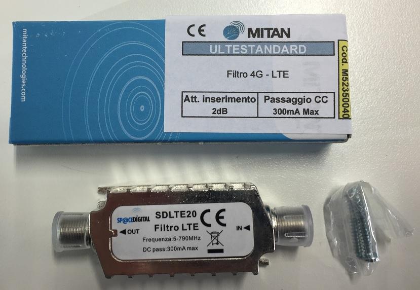 Filtro LTE con connetori F